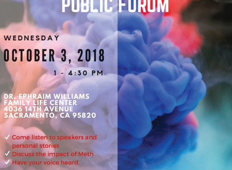 Register Today for Sacramento County Opioid Coalition's FREE Public Forum on October 3