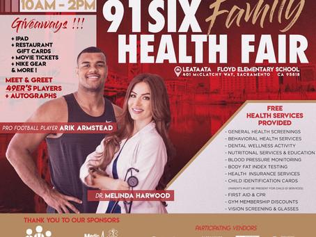 91Six Family Health Fair
