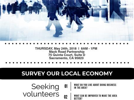 Mack Rd Business Walk Volunteer Opportunity