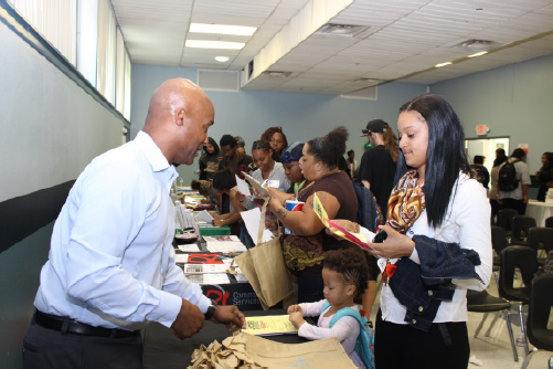 Resource fair for Jobs Plus participants