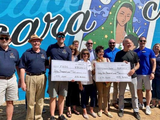Financial Institutions collaborate to fund the California Capital Financial Development Microloan Program and the Franklin Neighborhood Development Corporation Mercado Project