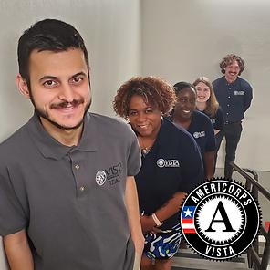 AmeriCorps VISTA volunteers