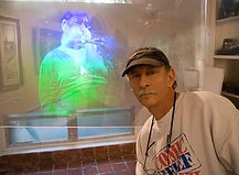 Mark Diamond 3D expert and Laser Holographer
