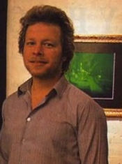 Peter Miller holographer and artist from the Global Images Hologram Art Collection