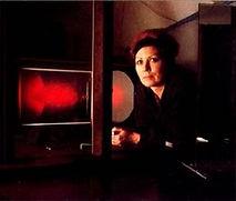 Margaret Benyon hologram artist from the Global Images Hologram Art Collection