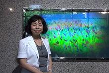 Setsuko Ishii hologram artist from the Global Images Hologram Art Collection