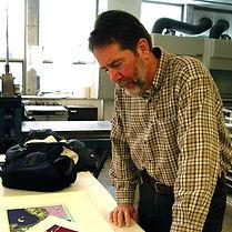 Doug Tyler hologram artist from the Global Images Hologram Art Collection