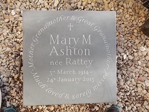Welsh Slate Memorial