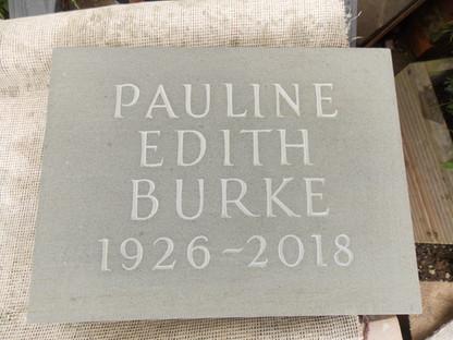 Forest of Dean memorial plaque