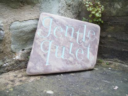 'Gentle Quiet' Pebble