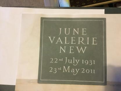 Memorial in Welsh Slate