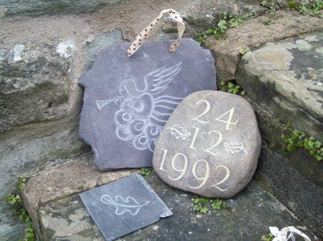 Welsh Slate and Pebble