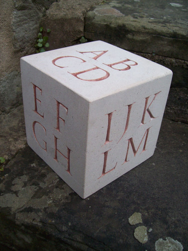Portland Alphabet Cube