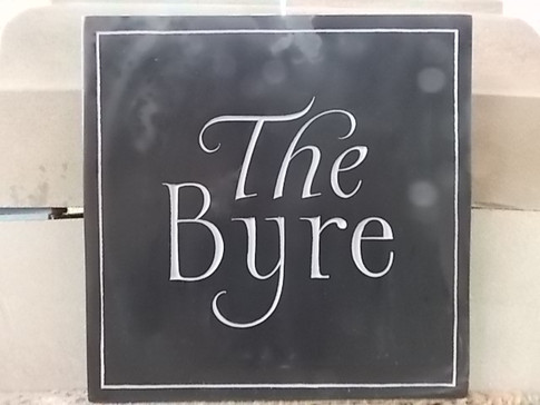 House Name in Welsh Slate