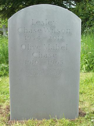 Headstone in Forest of Dean
