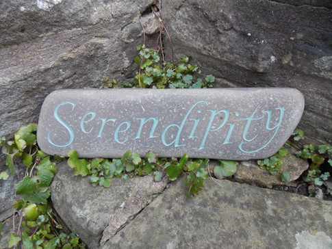 'Serendipity' Pebble