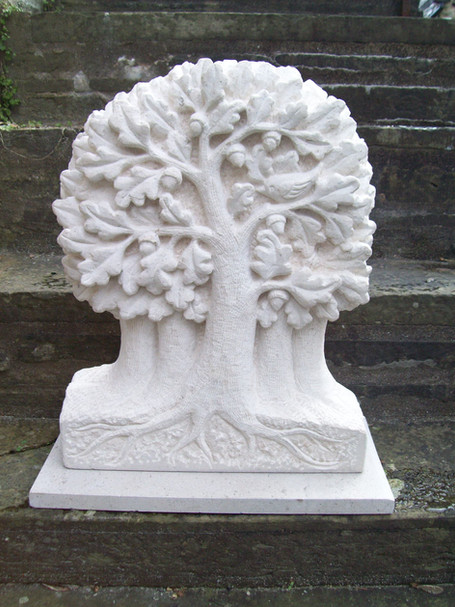 Tree Sculpture in Portland