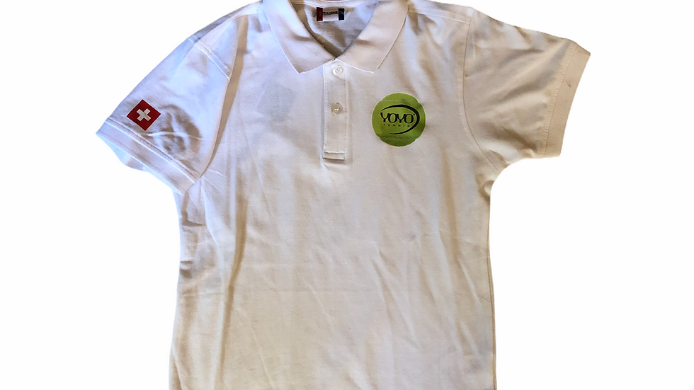 YOYO-TENNIS POLO WHITE JUNIOR