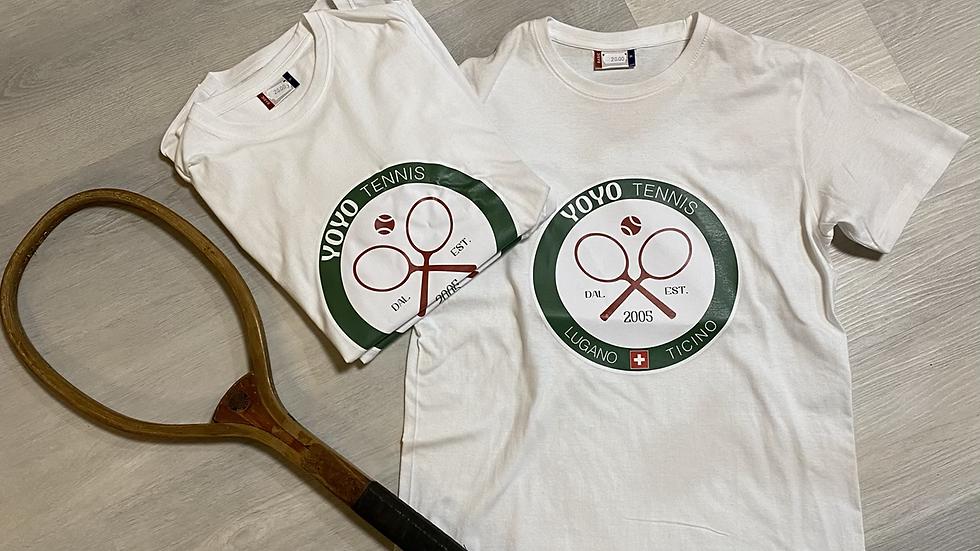 YOYO-TENNIS T-SHIRT LUGANO WHITE