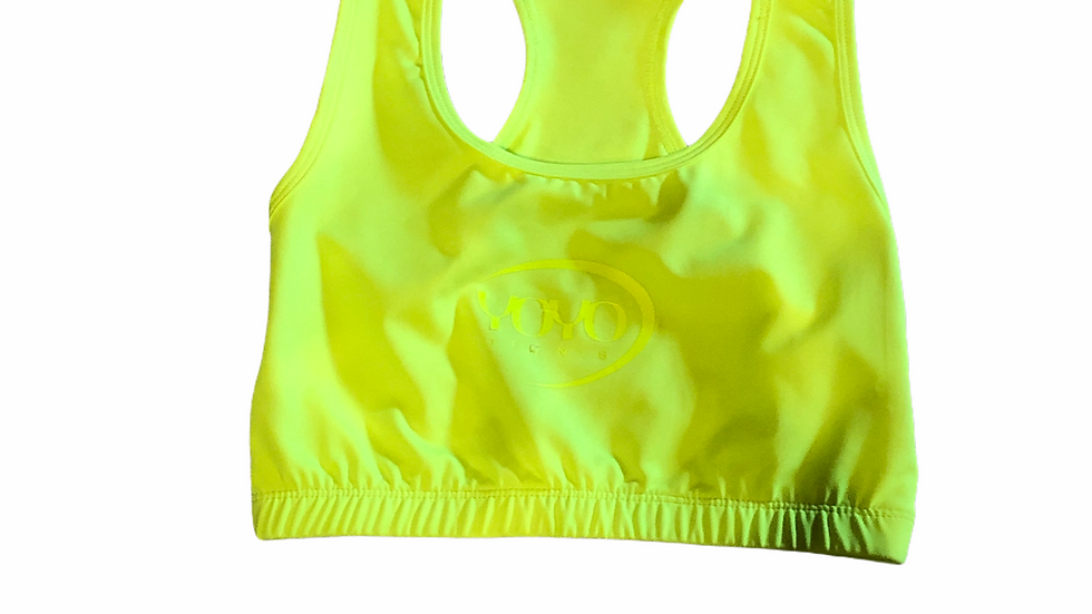 YOYO-TENNIS SPORT TOP YELLOW