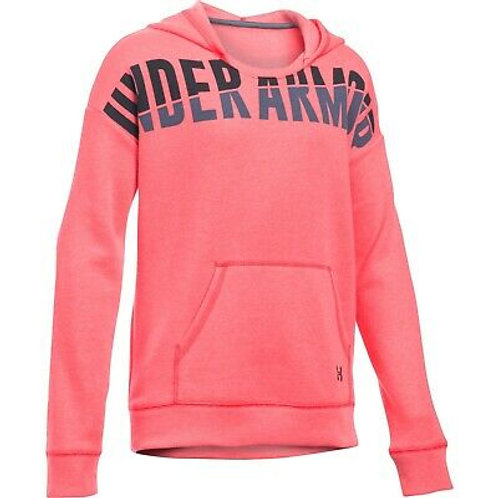 UNDER ARMOR HOODIE JUNIOR PINK