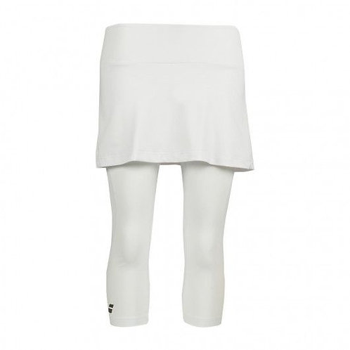BABOLAT SKORT+LEGG WHITE