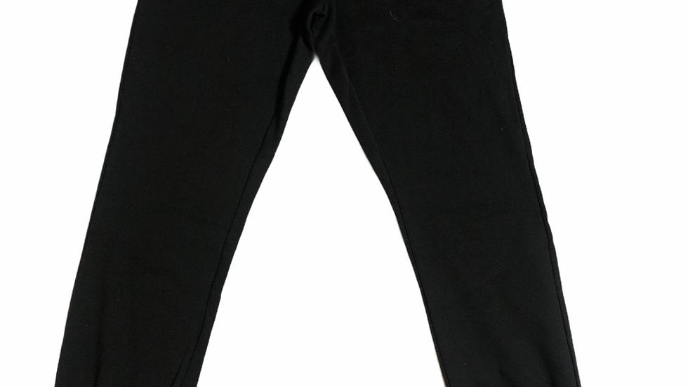YOYO-TENNIS PANT BLACK/ORANGE
