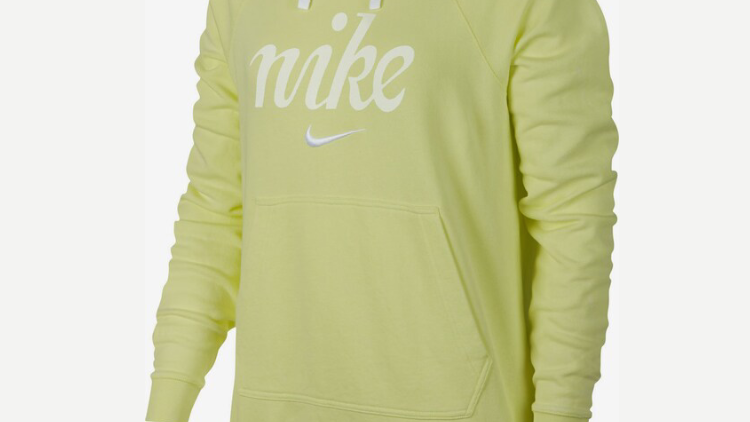 NIKE HOODY LEMON WOMAN