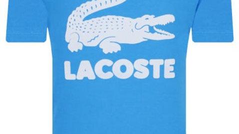 LACOSTE TEE BLUE BOY