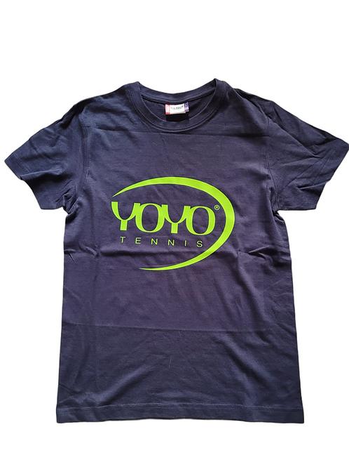 YOYO-TENNIS T-SHIRT NAVY/GREEN