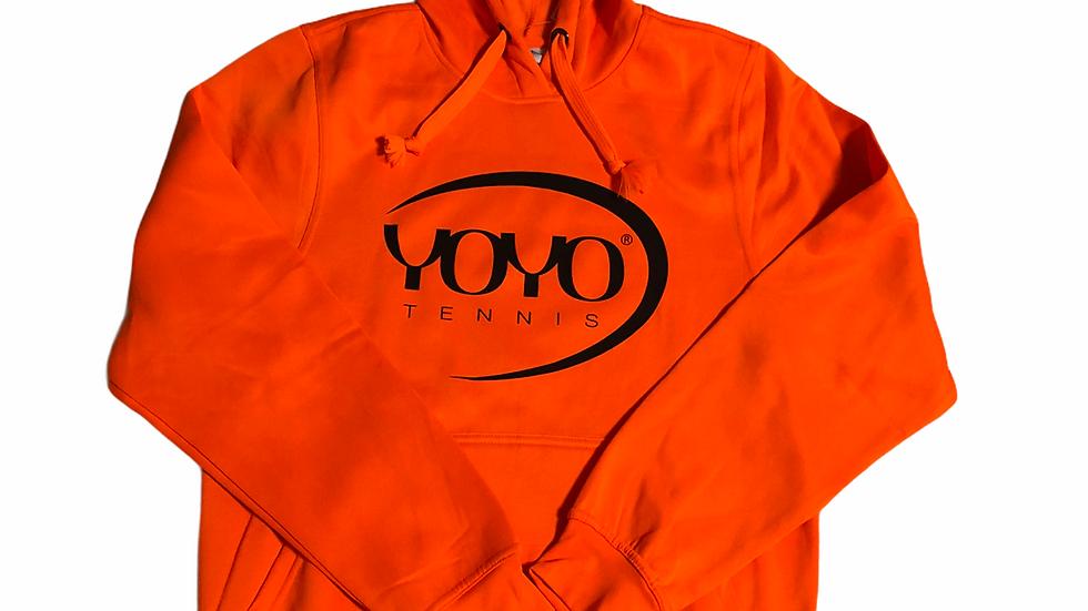 YOYO-TENNIS HOODY ORANGE/BLACK