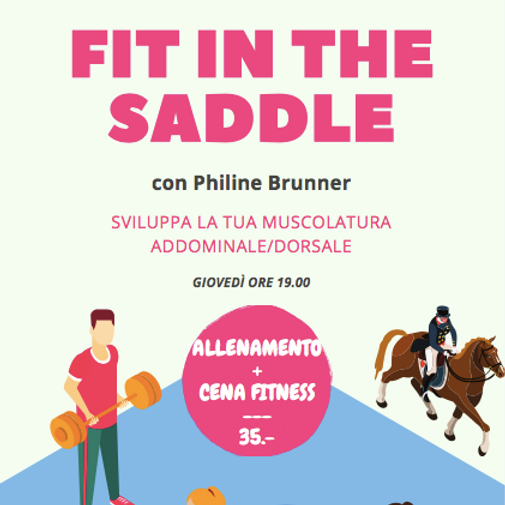 Fit in the saddle