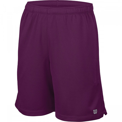 WILSON SHORTS BORDEAUX JUNIOR