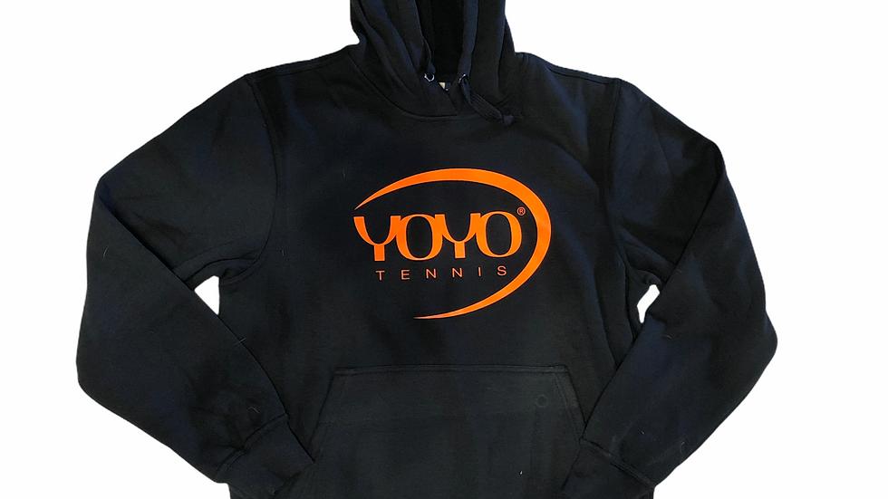 YOYO-TENNIS HOODY NAVY/ORANGE