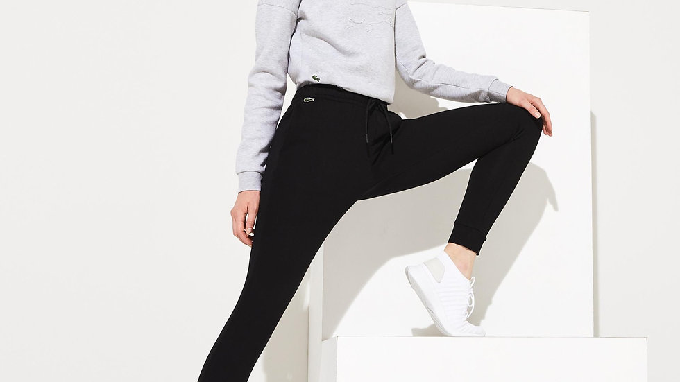 LACOSTE PANT NERO DONNA - XS
