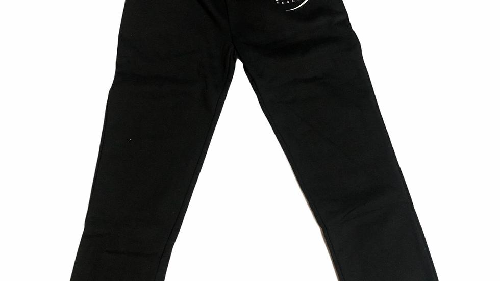 YOYO-TENNIS PANTS BLACK/WHITE