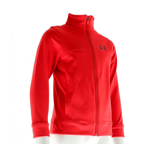 UNDER ARMOR HOODIE JUNIOR RED
