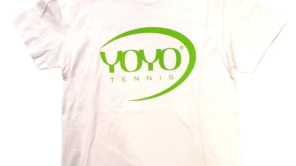 YOYO-TENNIS T-SHIRT WHITE/GREEN