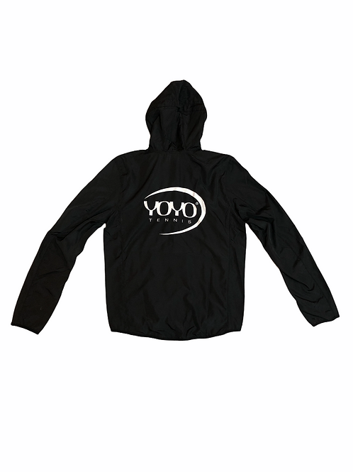 YOYO-TENNIS JACKET BLACK/WHITE