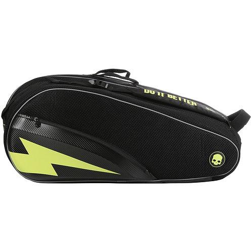 HYDROGEN TENNIS BAG BLACK 6X