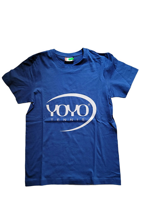 YOYO-TENNIS T-SHIRT BLUE/WHITE