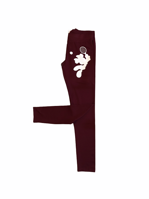 YOYO-TENNIS LADIES PLAYER LEGGINGS