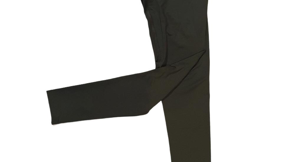 YOYO-TENNIS LEGGINGS MILITARY GREEN/BLACK