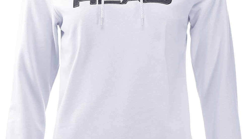 HEAD HOODY WHITE/GREY WOMAN