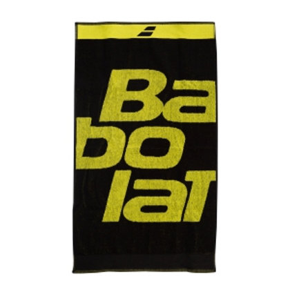 BABOLAT MEDIUM TOWEL BLACK/YELLOW