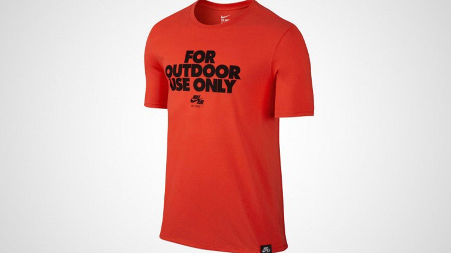 NIKE COTTO T-SHIRT RED