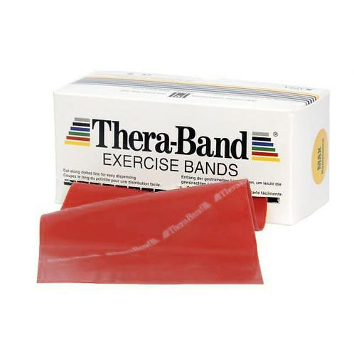THERA BAND 5.5 M - MEDIO - ROSSO