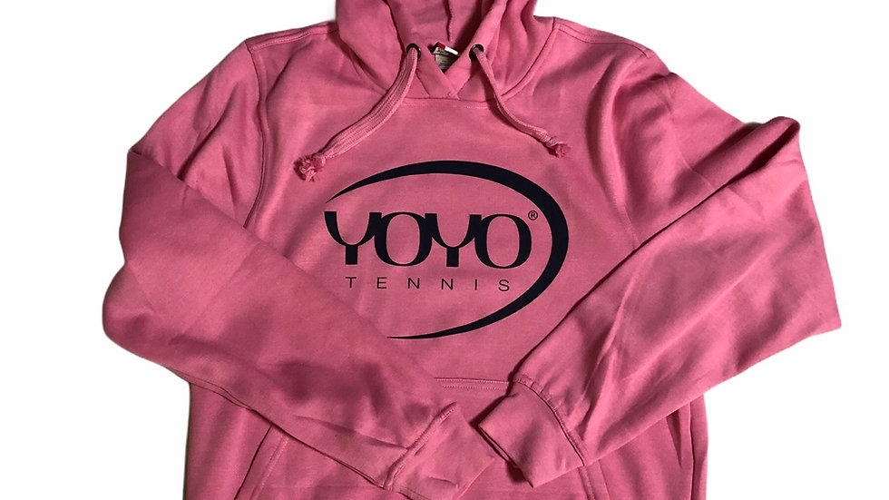 YOYO-TENNIS HOODY ROSE/BLACK