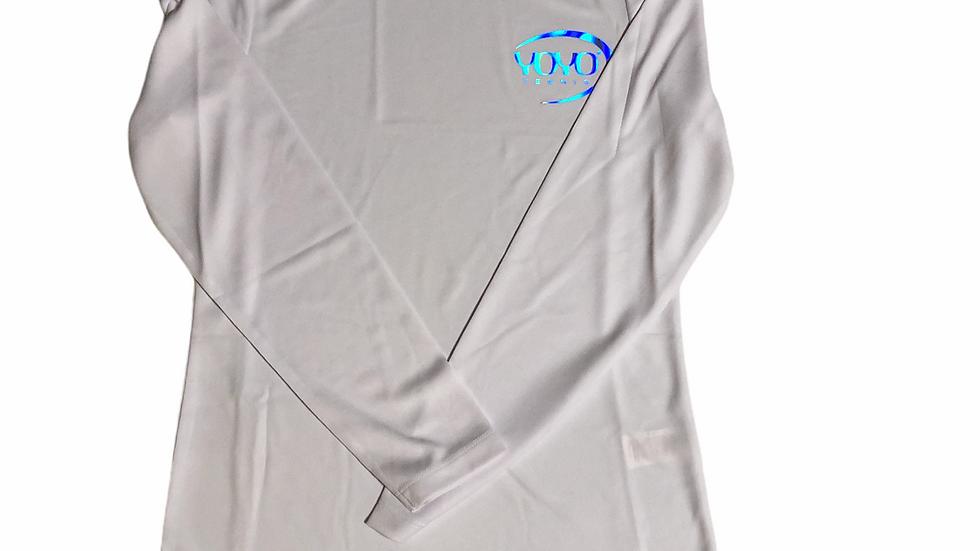 YOYO-TENNIS SHIRT WHITE/SILVER