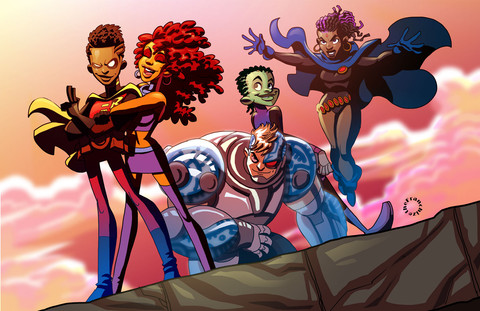 Black Teen Titans